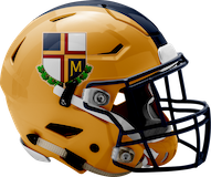 Pope John Paul II Golden Panthers logo