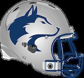 Louis E. Dieruff Huskies logo